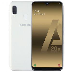 Samsung Galaxy A20e 32Go Blanc double sim Grade C