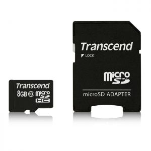 Transcend Carte MicroSD  8Go